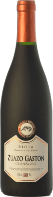 8,95 € Kostenloser Versand | Rotwein Zuazo Gaston Crianza D.O.Ca. Rioja La Rioja Spanien Tempranillo Flasche 75 cl