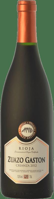 8,95 € Envío gratis | Vino tinto Zuazo Gaston Crianza D.O.Ca. Rioja La Rioja España Tempranillo Botella 75 cl