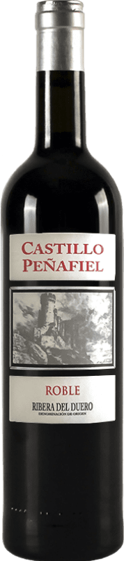 5,95 € Free Shipping | Red wine Thesaurus Castillo de Peñafiel 6 Meses Crianza D.O. Ribera del Duero Castilla y León Spain Tempranillo Bottle 75 cl | Thousands of wine lovers trust us to get the best price guarantee, always free shipping and hassle-free shopping and returns.