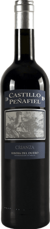9,95 € Free Shipping | Red wine Thesaurus Castillo de Peñafiel 12 Meses Crianza D.O. Ribera del Duero Castilla y León Spain Tempranillo Bottle 75 cl | Thousands of wine lovers trust us to get the best price guarantee, free shipping always and hassle-free shopping and returns.