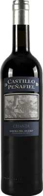 9,95 € Free Shipping | Red wine Thesaurus Castillo de Peñafiel 12 Meses Crianza D.O. Ribera del Duero Castilla y León Spain Tempranillo Bottle 75 cl. | Thousands of wine lovers trust us to get the best price guarantee, free shipping always and hassle-free shopping and returns.