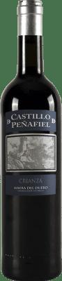 12,95 € Envío gratis | Vino tinto Thesaurus Castillo de Peñafiel 12 Meses Crianza D.O. Ribera del Duero Castilla y León España Tempranillo Botella 75 cl