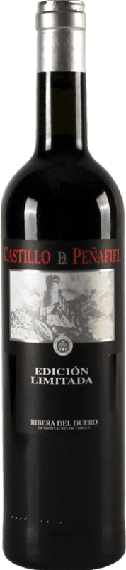 23,95 € Free Shipping | Red wine Thesaurus Castillo de Peñafiel 18 Meses Reserva D.O. Ribera del Duero Castilla y León Spain Tempranillo Bottle 75 cl
