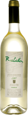5,95 € Бесплатная доставка | Белое вино Thesaurus Retola Vendimia Seleccionada Joven I.G.P. Vino de la Tierra de Castilla y León Кастилия-Леон Испания Viura, Verdejo, Sauvignon White бутылка 75 cl