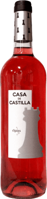 4,95 € Envío gratis | Vino rosado Thesaurus Casa Castilla Joven D.O. Cigales Castilla y León España Tempranillo Botella 75 cl