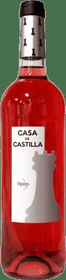6,95 € Spedizione Gratuita | Vino rosato Thesaurus Casa Castilla Joven D.O. Cigales Castilla y León Spagna Tempranillo Bottiglia 75 cl