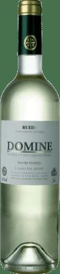 8,95 € Envio grátis | Vinho branco Thesaurus Domine Joven D.O. Rueda Castela e Leão Espanha Verdejo, Sauvignon Branca Garrafa 75 cl