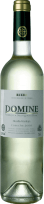 4,95 € Free Shipping | White wine Thesaurus Domine Joven D.O. Rueda Castilla y León Spain Verdejo, Sauvignon White Bottle 75 cl. | Thousands of wine lovers trust us to get the best price guarantee, free shipping always and hassle-free shopping and returns.