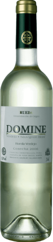 6,95 € Envoi gratuit | Vin blanc Thesaurus Domine Joven D.O. Rueda Castille et Leon Espagne Verdejo, Sauvignon Blanc Bouteille 75 cl