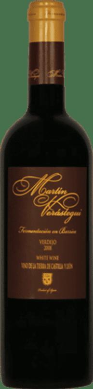 9,95 € Envoi gratuit   Vin blanc Thesaurus Martín Verástegui Fermentación Barrica Crianza I.G.P. Vino de la Tierra de Castilla y León Castille et Leon Espagne Verdejo Bouteille 75 cl