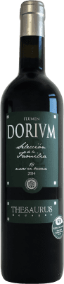 19,95 € Бесплатная доставка | Красное вино Thesaurus Flumen Dorium 18 Meses Reserva D.O. Ribera del Duero Кастилия-Леон Испания Tempranillo бутылка 75 cl