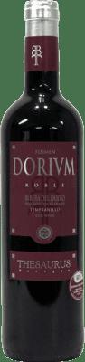 8,95 € Бесплатная доставка | Красное вино Thesaurus Flumen Dorium 6 Meses Crianza D.O. Ribera del Duero Кастилия-Леон Испания Tempranillo бутылка 75 cl