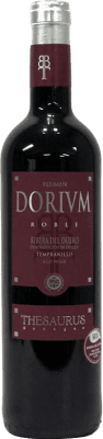 5,95 € Free Shipping | Red wine Thesaurus Flumen Dorium 6 Meses Crianza D.O. Ribera del Duero Castilla y León Spain Tempranillo Bottle 75 cl. | Thousands of wine lovers trust us to get the best price guarantee, free shipping always and hassle-free shopping and returns.