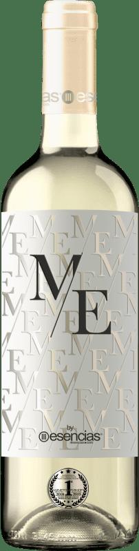 11,95 € Kostenloser Versand | Weißwein Esencias ME&White I.G.P. Vino de la Tierra de Castilla y León Spanien Verdejo Flasche 75 cl