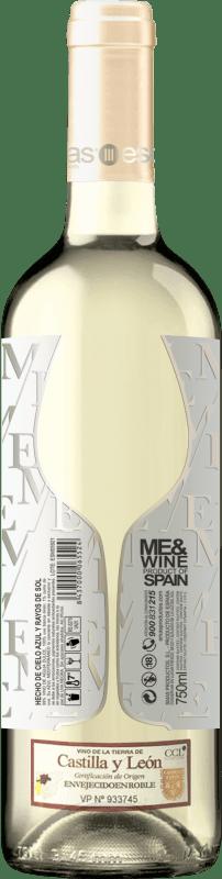 11,95 € Free Shipping | White wine Esencias ME&White I.G.P. Vino de la Tierra de Castilla y León Spain Verdejo Bottle 75 cl