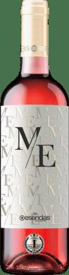 9,95 € Envío gratis | Vino rosado Esencias ME&Rosé Joven D.O. Cigales Castilla y León España Tempranillo Botella 75 cl