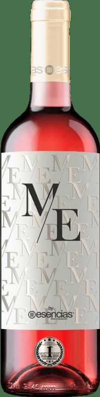 11,95 € 免费送货 | 玫瑰酒 Esencias ME&Rosé Joven D.O. Cigales 卡斯蒂利亚莱昂 西班牙 Tempranillo 瓶子 75 cl