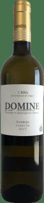 6,95 € Spedizione Gratuita | Vino bianco Thesaurus Domine Joven D.O. Rueda Castilla y León Spagna Verdejo Bottiglia 75 cl