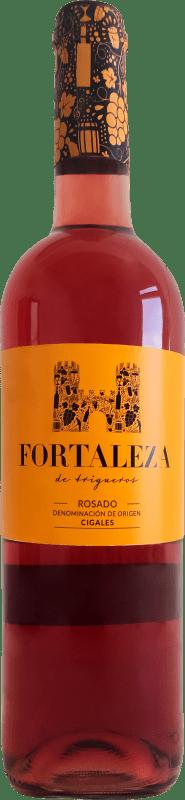 7,95 € Spedizione Gratuita | Vino rosato Thesaurus Fortaleza de Trigueros Joven D.O. Cigales Castilla y León Spagna Tempranillo Bottiglia 75 cl