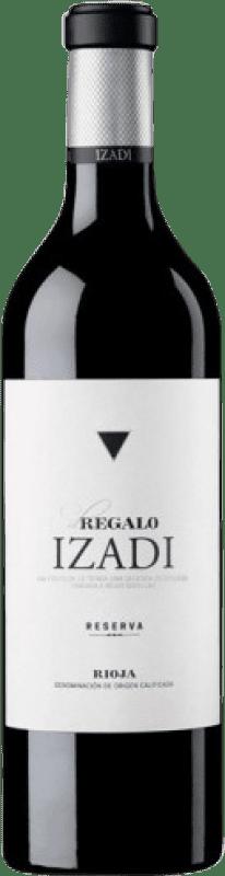 17,95 € Free Shipping | Red wine Izadi El Regalo Reserva D.O.Ca. Rioja The Rioja Spain Tempranillo Bottle 75 cl