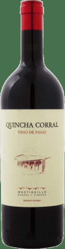 169,95 € Free Shipping   Red wine Mustiguillo Quincha Corral D.O.P. Vino de Pago El Terrerazo Spain Bobal Magnum Bottle 1,5 L