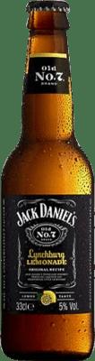 39,95 € Free Shipping | 12 units box Bourbon Jack Daniel's Lynchburg Lemonade Half Bottle 33 cl