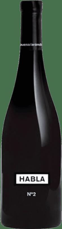 143,95 € Free Shipping   Red wine Habla Nº 2 Collection I.G.P. Vino de la Tierra de Extremadura Estremadura Spain Tempranillo Bottle 75 cl