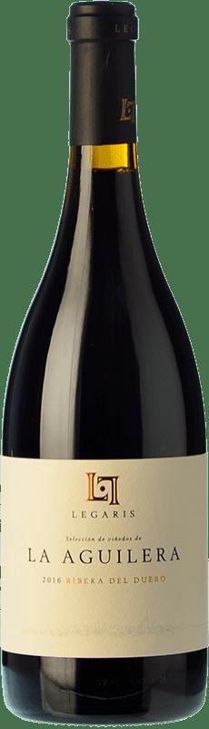 29,95 € Free Shipping | Red wine Legaris La Aguilera D.O. Ribera del Duero Castilla y León Spain Tempranillo Bottle 75 cl