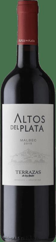 9,95 € Free Shipping | Red wine Terrazas de los Andes Altos del Plata I.G. Mendoza Mendoza Argentina Malbec Bottle 75 cl