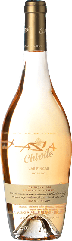 19,95 € Free Shipping   Rosé sparkling Chivite Las Fincas Rosado Fermentación en Barrica Grenache Bottle 75 cl