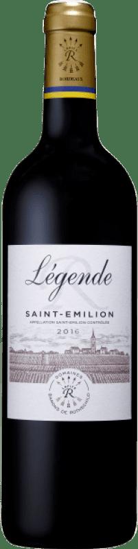 24,95 € Free Shipping   Red wine Barons de Rothschild Légende A.O.C. Saint-Émilion Bordeaux France Merlot, Cabernet Franc Bottle 75 cl