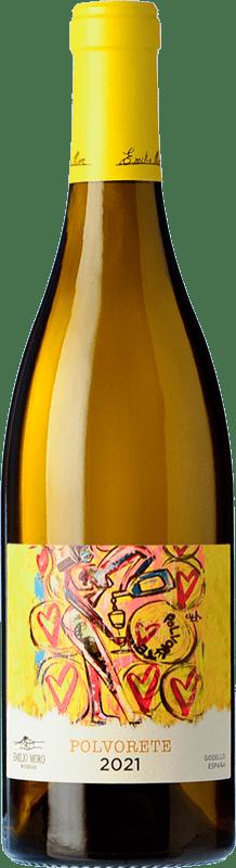 9,95 € Free Shipping | White wine Emilio Moro Polvorete Blanco D.O. Bierzo Castilla y León Spain Godello Bottle 75 cl