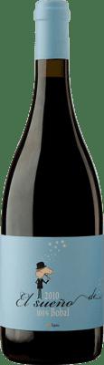 22,95 € Free Shipping | Red wine Murciano & Sampedro El Sueño de Bruno D.O. Utiel-Requena Spain Bobal Bottle 75 cl