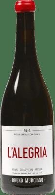 9,95 € Free Shipping | Red wine Murciano & Sampedro La Alegría D.O. Utiel-Requena Spain Bobal Bottle 75 cl