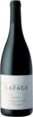 19,95 € Free Shipping | Red wine Domaine Lafage Nicolás Crianza Otras A.O.C. Francia France Grenache Magnum Bottle 1,5 L