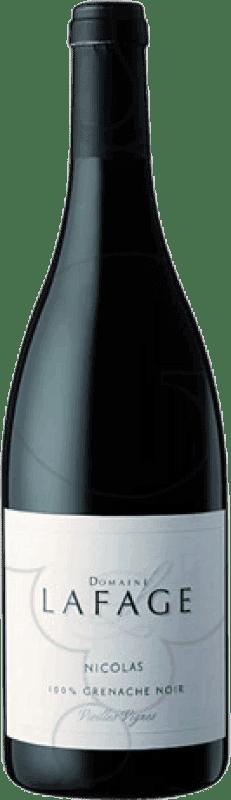 19,95 € Kostenloser Versand | Rotwein Domaine Lafage Nicolás Crianza Otras A.O.C. Francia Frankreich Grenache Magnum-Flasche 1,5 L