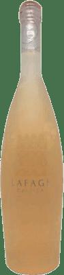 11,95 € Kostenloser Versand | Rosé-Wein Domaine Lafage Gallica Joven Otras A.O.C. Francia Frankreich Flasche 75 cl