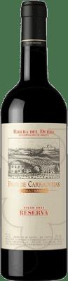 93,95 € Envío gratis | Vino tinto Pago de Carraovejas Reserva D.O. Ribera del Duero Castilla y León España Botella Mágnum 1,5 L