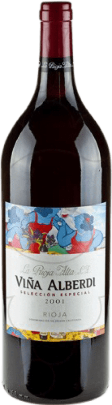 22,95 € Kostenloser Versand | Rotwein Rioja Alta Viña Alberdi Crianza D.O.Ca. Rioja La Rioja Spanien Magnum-Flasche 1,5 L