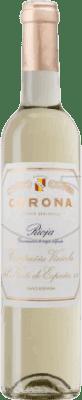 27,95 € Envio grátis | Vinho fortificado Norte de España - CVNE Corona Meio Seco D.O.Ca. Rioja La Rioja Espanha Macabeo Meia Garrafa 50 cl