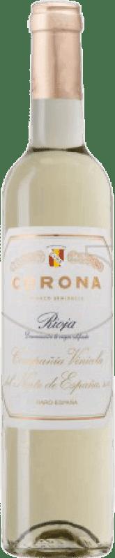 22,95 € Free Shipping | Fortified wine Norte de España - CVNE Corona Semi Dry D.O.Ca. Rioja The Rioja Spain Macabeo Half Bottle 50 cl