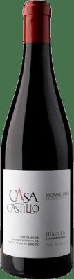 7,95 € Kostenloser Versand | Rotwein Casa Castillo D.O. Jumilla Levante Spanien Monastrell Flasche 75 cl