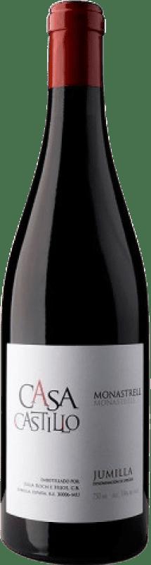 7,95 € Free Shipping | Red wine Casa Castillo D.O. Jumilla Levante Spain Monastrell Bottle 75 cl