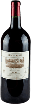 146,95 € Free Shipping | Red wine Ntra. Sra de Remelluri Reserva 2009 D.O.Ca. Rioja The Rioja Spain Tempranillo, Grenache, Graciano Jéroboam Bottle-Double Magnum 3 L