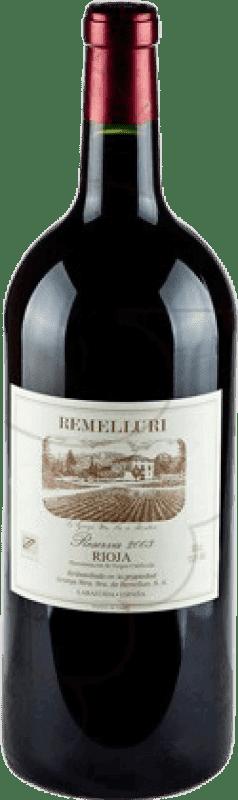 121,95 € Envoi gratuit   Vin rouge Ntra. Sra de Remelluri Reserva 2009 D.O.Ca. Rioja La Rioja Espagne Tempranillo, Grenache, Graciano Bouteille Jéroboam-Doble Magnum 3 L