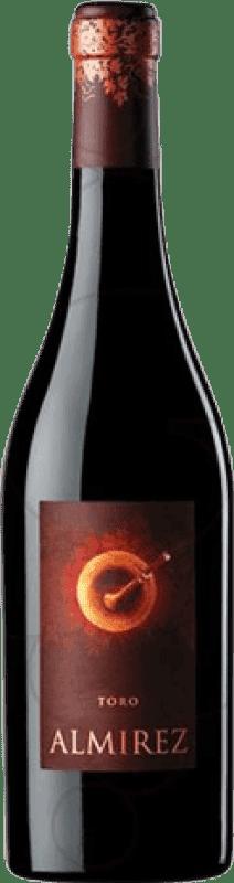 17,95 € Envío gratis | Vino tinto Teso La Monja Almirez Crianza D.O. Toro Castilla y León España Tempranillo Botella 75 cl