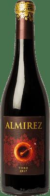 15,95 € Kostenloser Versand | Rotwein Teso La Monja Almirez Crianza D.O. Toro Kastilien und León Spanien Tempranillo Flasche 75 cl