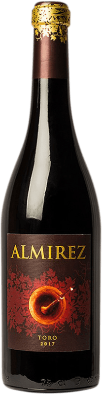 17,95 € Spedizione Gratuita | Vino rosso Teso La Monja Almirez Crianza D.O. Toro Castilla y León Spagna Tempranillo Bottiglia 75 cl