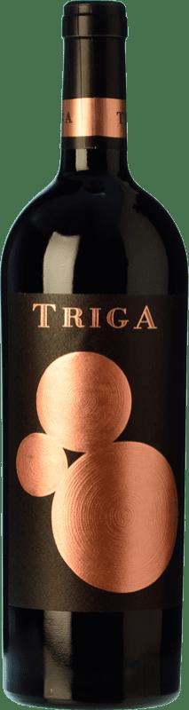 28,95 € Envío gratis | Vino tinto Volver Triga Crianza D.O. Alicante Levante España Monastrell Botella 75 cl