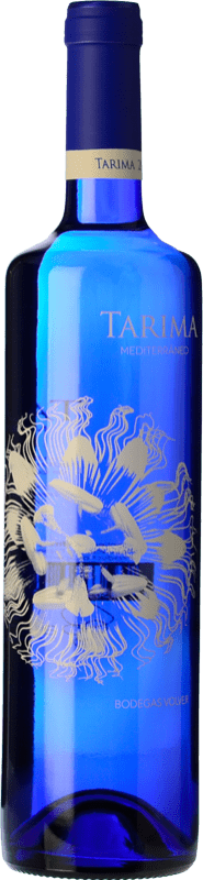 5,95 € Envío gratis | Vino blanco Volver Tarima Mediterráneo Joven D.O. Alicante Levante España Moscatel, Merseguera Botella 75 cl